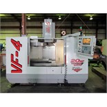 "HAAS MDL. VF-4 CNC VERTICAL MACHINING CENTER, new 1997, Haas CNC control, 18"" x 52"" table, 50"" X-"