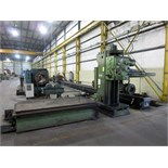 "KAUKAUNA MDL. 3040 TABLE TYPE HORIZONTAL BORING MILL, 4"" spdl. dia., 60"" x 120"" T-slotted table, 96"""
