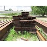 "C CHANNEL 1,2, AND 3: (128 pieces) of 10"" channel, 25-lb., 32' long, 52 tons. Seller will load for"