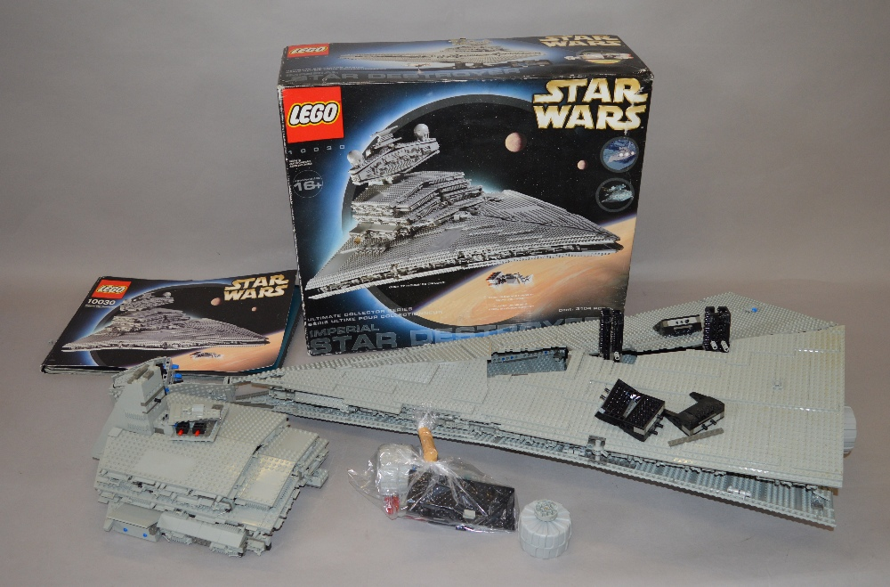 Lego Star Wars 10030 Imperial Star Destroyer With Box And