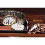 Box of fashion watches
