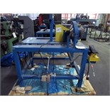 "SWEDGING MACHINE, CUSTOM 3"", tbl. Mtd., Enerpac pwr. Supply (Location C - Houston, TX)"