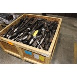 LOT CONSISTING OF: 50 taper toolholders & some boring bars (Location B - Cypress, TX)