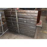 "LOT OF ANGLE PLATES, including (1) 2' W x 3' ht., (1) 5' W x 4' ht., (1) 40"" W x 3' ht., (1) 5' W"