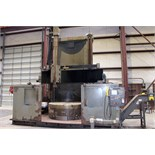 "CNC VERTICAL BORING MILL, BULLARD 86"" DYN-AU-TAPE, Fanuc Oi-TC CNC control, 86"" dia. 4-jaw table,"