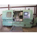 "CNC LATHE, DAEWOO PUMA, 12L, new 1990, 22.4"" sw. over bed, 14.6"" over carriage, 19 "" max. turning"