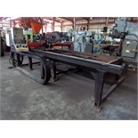 CNC CUTTING MACHINE, WALMAR S.R.L. MDL. WM1500X3000, 5' x 10' cutting cap., Burny 1250+control, (