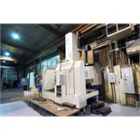CNC VERTICAL TURNING MACHINE, YOUJI MDL. YV-1200ATC PLUS C, new 7/2006, Fanuc 18i-TB control, 49""