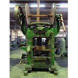 "FRICTION SCREW-TYPE FORGING PRESS, GUTMANN, 150 T.,23.5"" x 25"" bed area, 10"" stroke, 16"" daylight,"