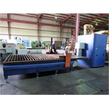 CNC PLASMA CUTTING MACHINE, VANGUARD MDL. PM510, 5' x 10 cutting cap., single plasma torch,