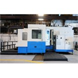 "CNC HORIZONTAL MACHINING CENTER, MAZAK MDL. FH880, new 1998, M Plus CNC control, 31.5"" pallet"