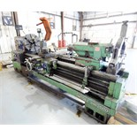 "GAP BED ENGINE LATHE, KINGSTON MDL. HR2000, new 6/2004, 30"" sw. over bed, 24"" sw. over crosslide,"