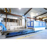 CNC HORIZONTAL BORING MILL, HNK MDL. HB-130CX, new 12/2000, Fanuc Series 16M CNC control, 130mm