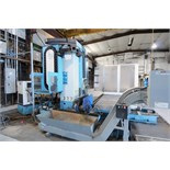 "CNC HORIZONTAL BORING MILL, FEMCO MDL. BMC110R2, new 8/2005, 4.33"" spdl., 56-1/2"" x 63"" table, 78.7"""