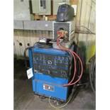 Miller Syncrowave 250DX 250-Amp TIG Welder, S/N LC497672, with Bernard Chiller, Leads, Torch (Buildi