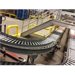 (L5-6) Power Roller conveyor 40 feet long. Located in Marion, Ohio Rigging Fee: $400