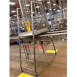 SS conveyor crossover 5 step. Located in Marion, Ohio Rigging Fee: $100