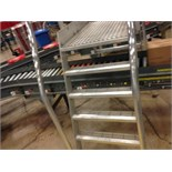 Full case conveyor 40 feet long to palletized (line 13) right to left stand alone line. Located in