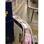 SS conveyor, 3.5 inch TT chain conveyor by 60 feet.. Located in Marion, Ohio Rigging Fee: $500