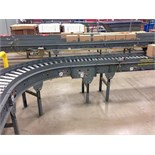 Versa power roller conveyor 60 feet long (line 12) right to left. Located in Marion, Ohio Rigging
