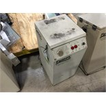 Fumex fume cabinet with pole for mounting fixture. (NO LASER). Located in Marion, Ohio Rigging