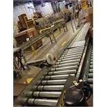 Power roller conveyor. Located in Marion, Ohio Rigging Fee: $150