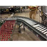 (L7-8) Power Roller conveyor 40 feet long. Located in Marion, Ohio Rigging Fee: $400