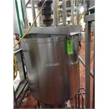 West Fill Kettle, Stainless Steel Kettle, 33 inch dia x 36 straight side, direct drive agitator,