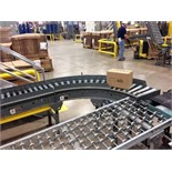 (L9-10) Power Roller conveyor 40 feet long. Located in Marion, Ohio Rigging Fee: $400