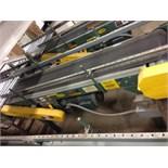 Hytrol belt conveyor16 inch x 5 feet long. Located in Marion, Ohio Rigging Fee: $200