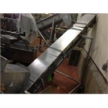 (1993) Custom Metal Craft SS Screw Incline Auger, Model 310265, s/n 14800-2, 10 inch dia x 12 feet