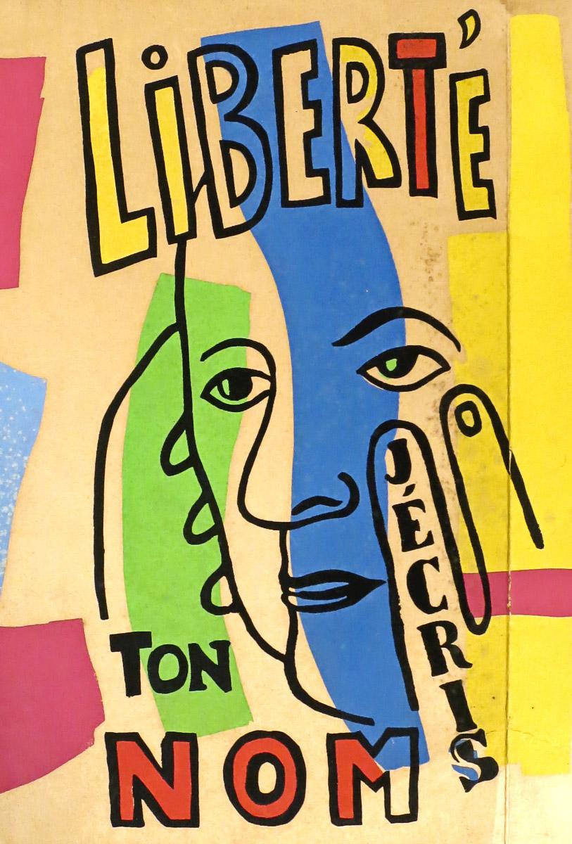 Lot 407 - - ÉLUARD, Paul.- Liberté, j'écris ton nom. [Illustrations de] Fernand Léger. Paris, Seghers;