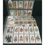 Antique Vintage 100 Cigarette Cards