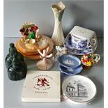 Vintage Retro Kitsch Parcel of Items Includes Goss & Wedgwood
