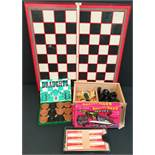 Vintage Assorted Board & Travel Games