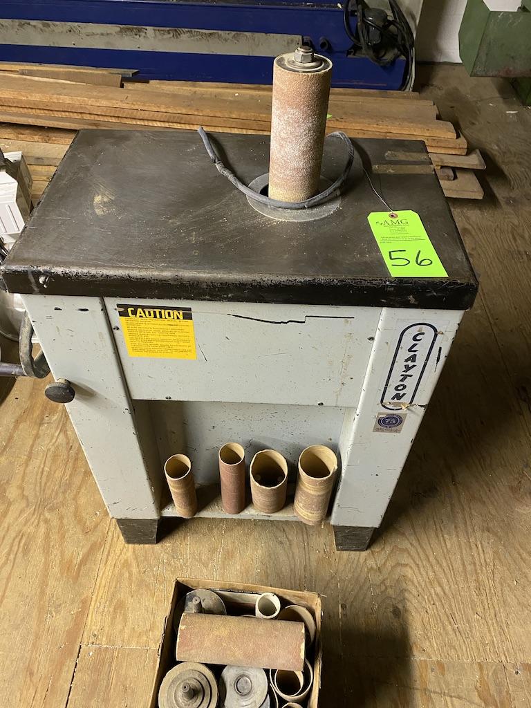Lot 56 - disk sander and parts