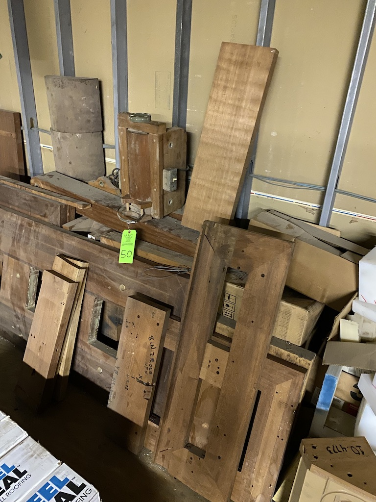 Lot 50 - wood, specialty custom woods of various sizes