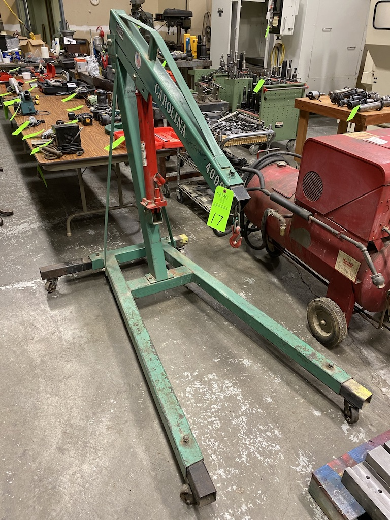 Lot 17 - 3 Ton Cherry Portable cherry picker