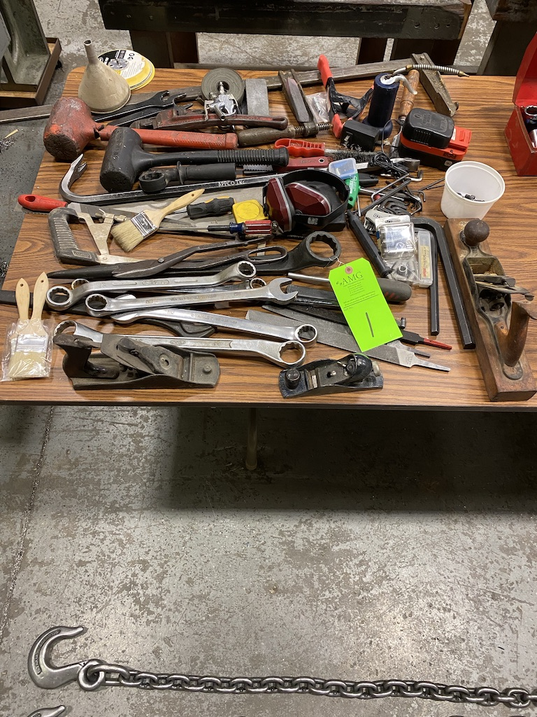 Lot 1 - Hand Tools