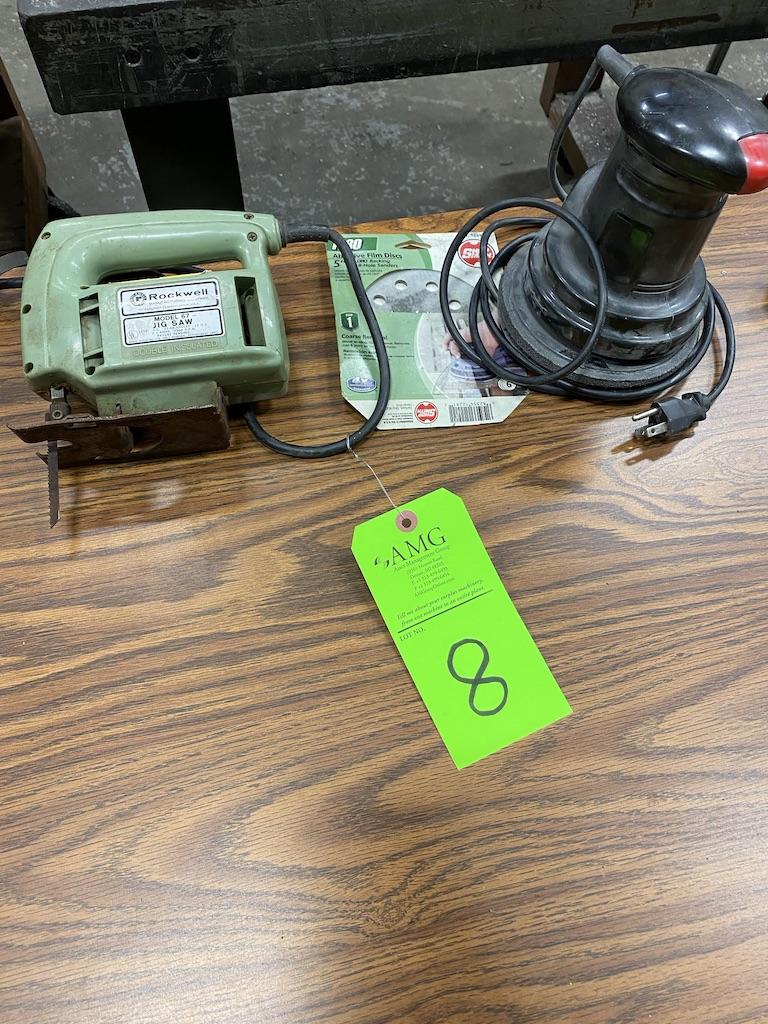Lot 8 - Orbital hand sander