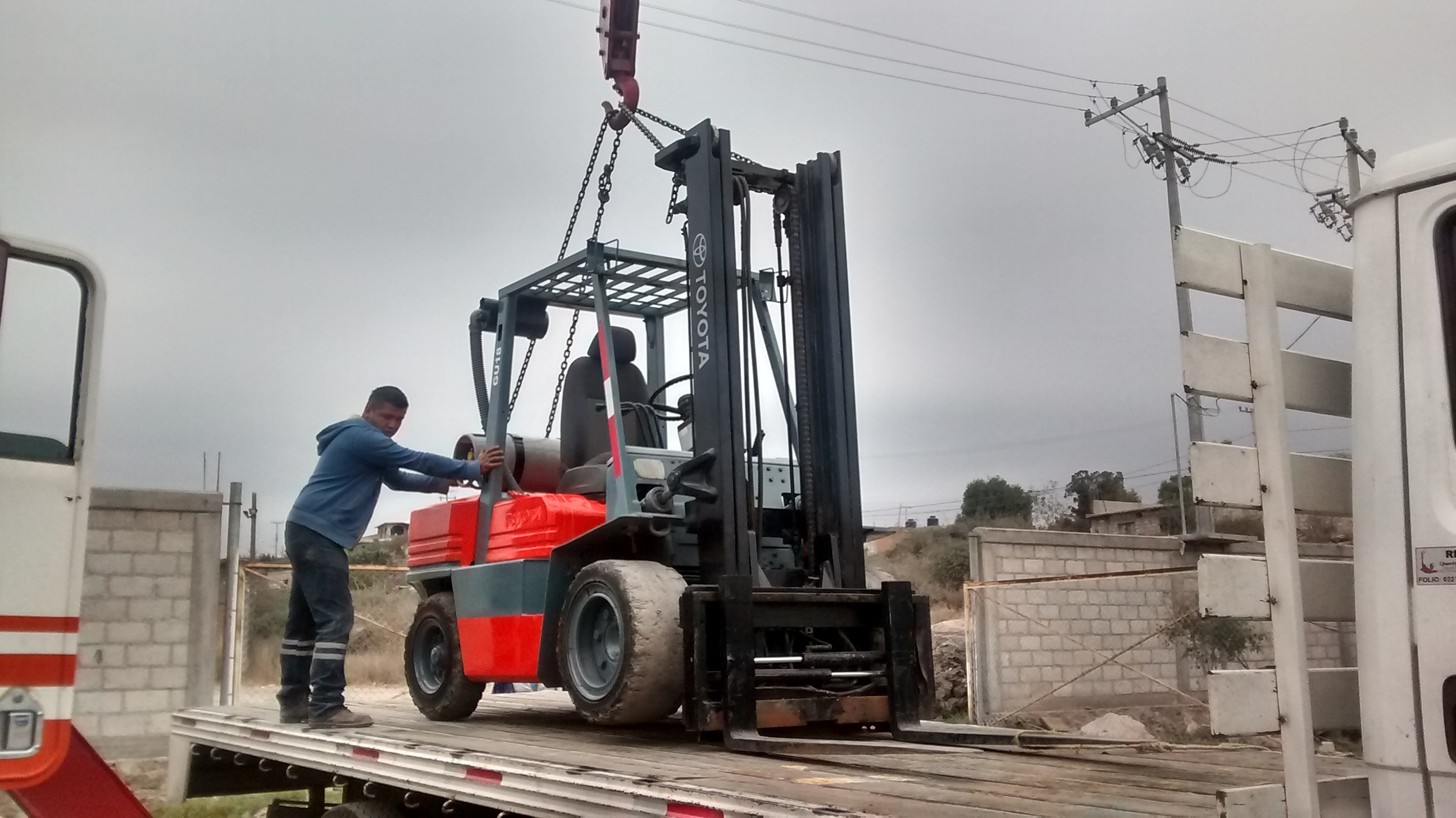 Lot 36 - Toyota Forklift