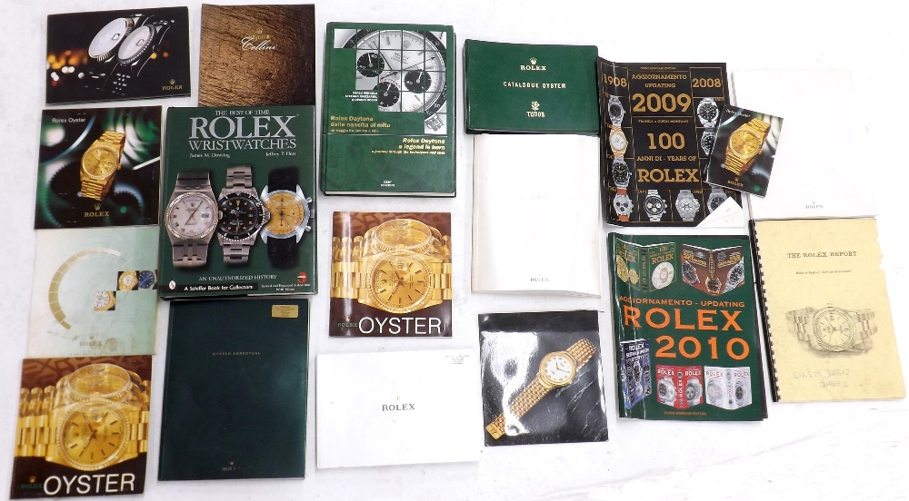 Lot 2214 - James M. Dowling, Jeffrey P. Hess - The Best Of Time, Rolex Wristwatches, An Unauthorised History,