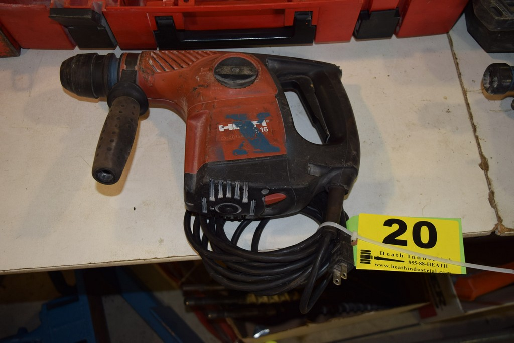 Lot 20 - HILTI MODEL TE16 ELECTRIC ROTARY HAMMER