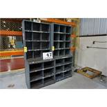 (2) SECTIONS METAL SHELVING