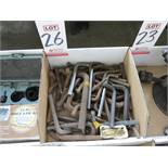 LOT - LARGE ALLEN WRENCHES