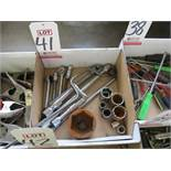 LOT - MISC SOCKETS AND RATCHETS