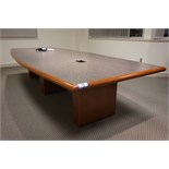 CWI 12' Boardroom Table with Visual Board