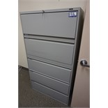 Global 5-Drawer Lateral File Cabinet