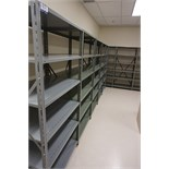 Sections of Clip Shelving