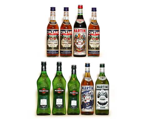 Assorted Vermouth, to include Cinzano, Vermouth Bianco Speciale, 1970s bottling, 75cl, 30 proof, three bottles; Martini, Ross